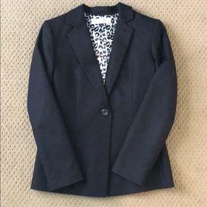 Tahari black blazer, size 6.